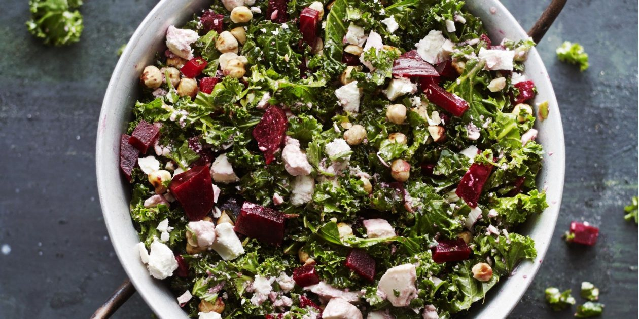 winterse boerenkoolsalade