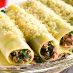 cannelloni met tonijn en spinazie