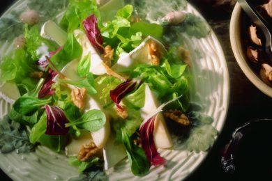 Salade peer en kaas