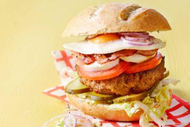 Lifesaving hamburger