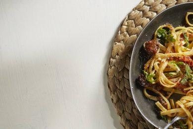 Tagliatelle met stoofvlees