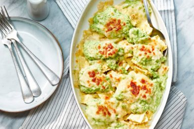 ravioli mac en cheese